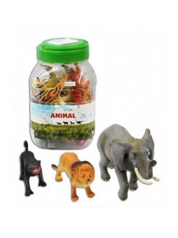 Cub amb 19 animals salvatges