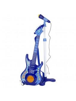 Guitarra amb micròfon