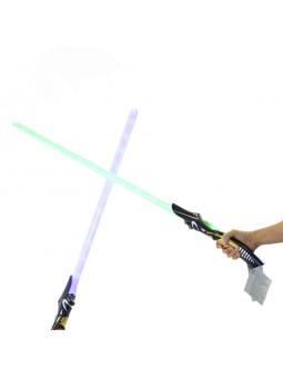Espasa espacial amb llum i...