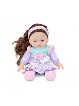 Nina de drap amb cabells