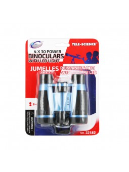 Binoculars blaus 4x30 amb llum