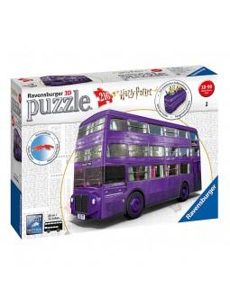 Puzle 3D Autobús Harry Potter