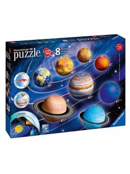 Puzle 3D Sistema planetari