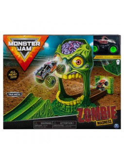 Monster Jam Playsets Acrobàcies Zombie