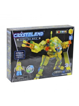 Crystaland robot amb 235 peces