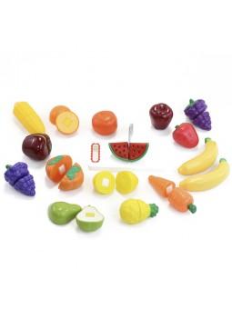 Set fruites tall velcro 30 peces