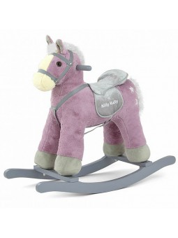 Cavall balancí rosa amb...