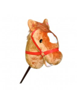 Cap cavall amb pal 100 cm