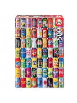 Puzle 500 Llauna sobre llauna