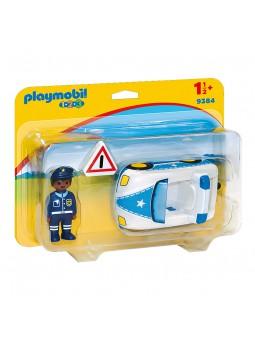 PLAYMOBIL® Playmobil 1.2.3 Cotxe de Policia