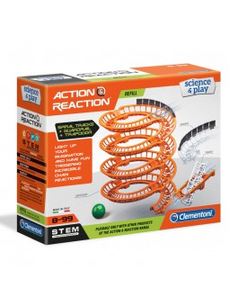 Action & Reaction pistes en espiral