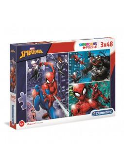 Puzle 3x48 Spiderman