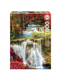 Puzzle 1.000 Cascada al bosc