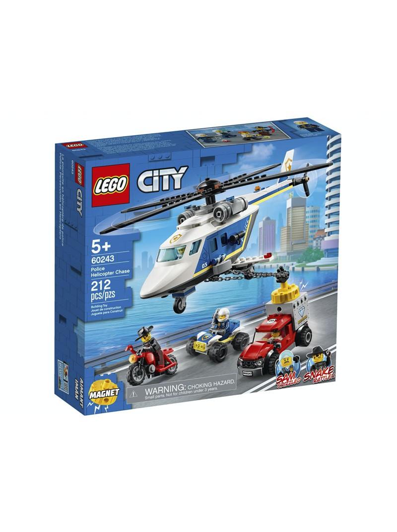 LEGO® City Policia: Persecució en Helicòpter