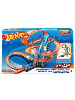 Torre Hot Wheels xocs en a l'aire