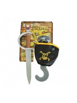 Set Pirata amb pegat,...