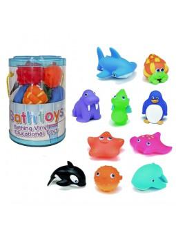 Pot 10 peixos colors