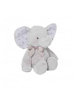 Baby elefant gris 38 cm
