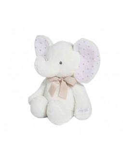 Baby elefant blanc 38 cm
