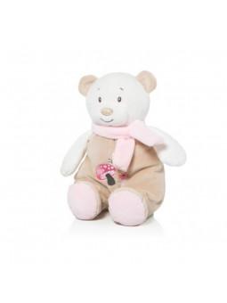 Baby osset sonall 28 cm rosa