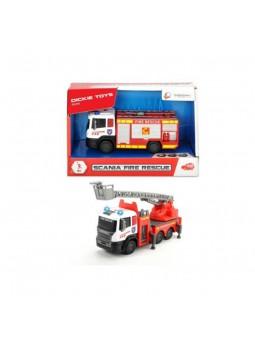 Camió de bombers SCANIA 17 cm amb llum i so
