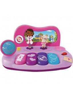 """Piano amb micròfon i figura """"Doctora juguetes"""""""