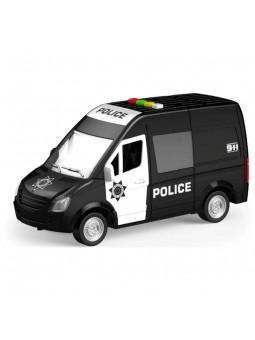 Furgó de policia amb llum i so, escala 1:16