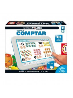 Educa touch júnior Aprenc a comptar en català