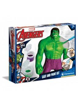 La força de l'Increible Hulk (Crea i pinta a Hulk)