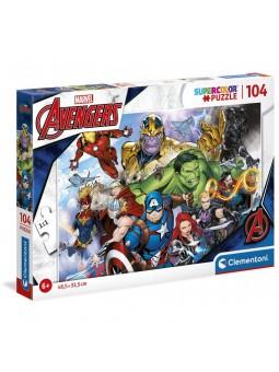 Puzle de Marvel Avengers de 104 Peces