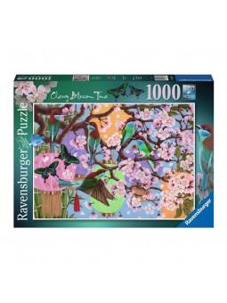 Puzle 1000 Flors de Cirerer