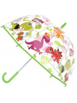 """Paraigües transparent Crazy Dinosaur 19"""""""