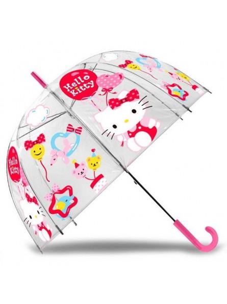 Paraigües transparent Hello Kitty