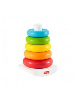 Piramide balanci d'anelles de colors