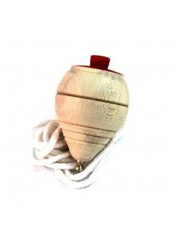 Baldufa de fusta amb corda