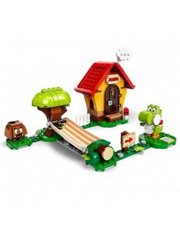 Set d'exposició Casa de Mario i Yoshi