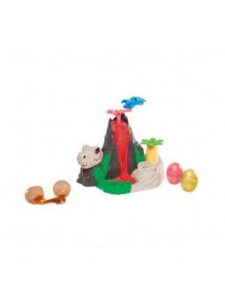 Dino Illa del volcà de Play-Doh