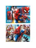 Set de 2 puzles Spiderman de 60 peces