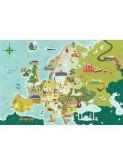Puzle Llocs d'Europa de 250 peces