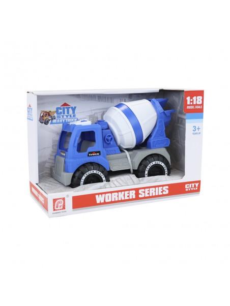Camió cuba de construcció escala 1:18