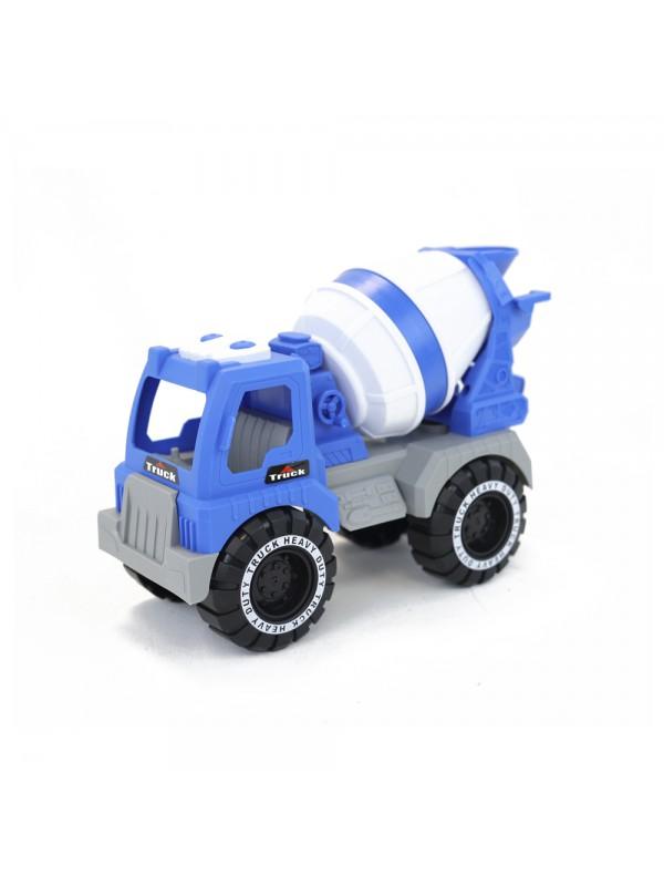 Set de 3 camions (cuba de construcció, grua i bolquet) escala 1:18