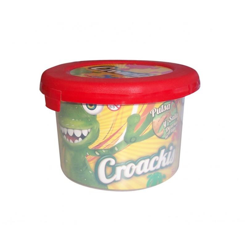 Croackis pot amb 6 granotes