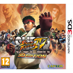 Joc 3DS Super Street Fither IV