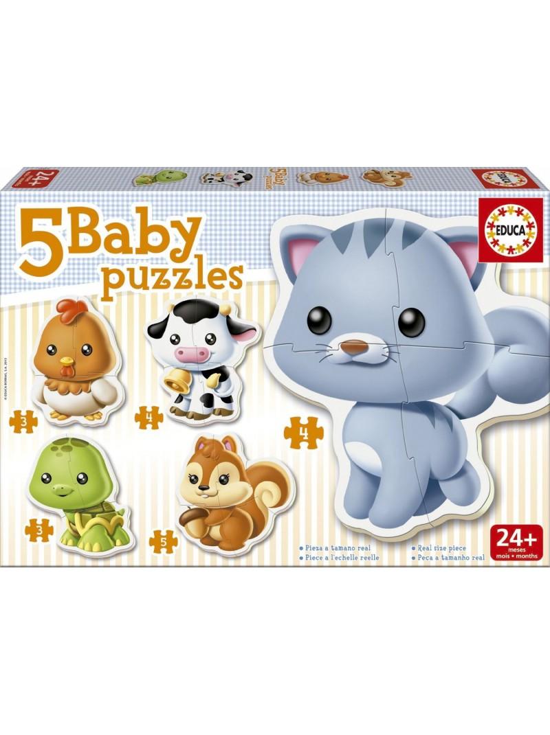 Baby Puzle animals
