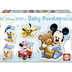 Puzle silueta baby Mickey