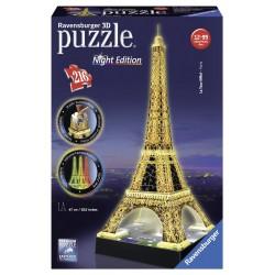 Puzle 3D Tour Eiffel edició nit  216 peces