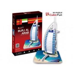 Torre Burj al Arab Dubai Puzle 3D