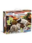 Arqueojugando T-Rex i Triceratops Fluor
