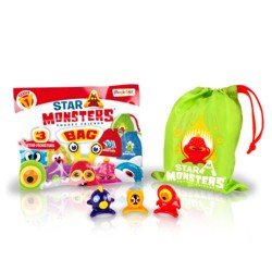 Star Monsters Sèrie 1 - Pack bossa amb 3 Star