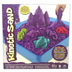 Kinetic Sand Playset Castell lila